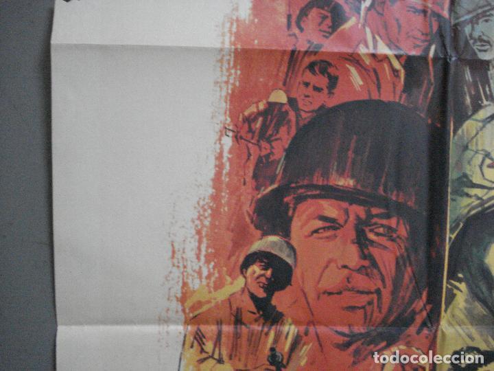 Cine: CDO 4127 TODOS ERAN VALIENTES FRANK SINATRA CLINT WALKER JANO POSTER ORIGINAL 70X100 ESTRENO - Foto 3 - 211867243