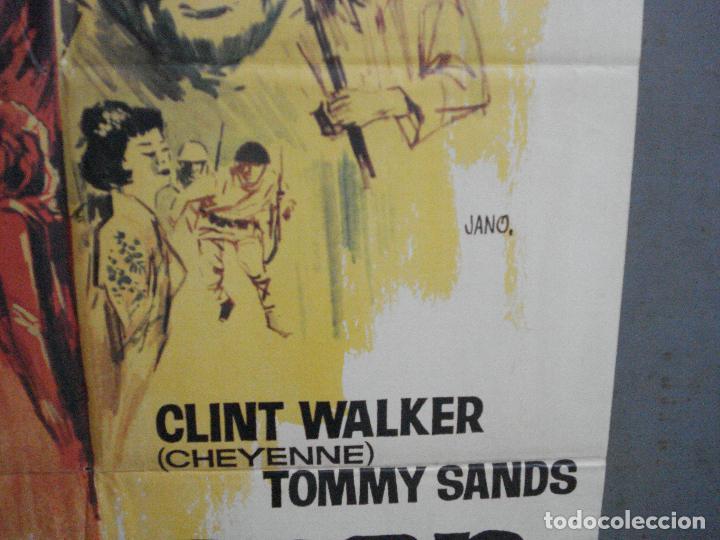 Cine: CDO 4127 TODOS ERAN VALIENTES FRANK SINATRA CLINT WALKER JANO POSTER ORIGINAL 70X100 ESTRENO - Foto 8 - 211867243