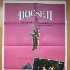 Cine: CARTEL CINE + 12 FOTOCROMOS HOUSE II AUN MAS ALUCINANTE ARYE GROSS CCF118. Lote 211875426