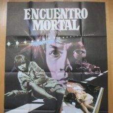 Cine: CARTEL CINE + 12 FOTOCROMOS ENCUENTRO MORTAL HAYLEY MILLS MAC 1976 CCF122. Lote 211877235