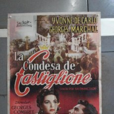 Cine: CDO 4156 LA CONDESA DI CASTIGLIONE YVONNE DE CARLO POSTER ORIGINAL 70X100 ESTRENO. Lote 211906466