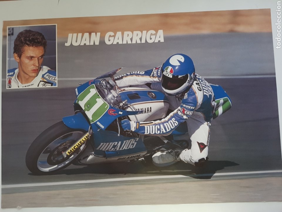 POSTER JOAN GARRIGA (Cine - Posters y Carteles - Deportes)