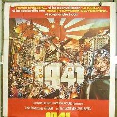 Cine: SU10D 1941 STEVEN SPIELBERG JOHN BELUSHI POSTER ORIGINAL ITALIANO 100X140. Lote 211932966