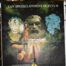 Cine: ZARDOZ - 1974 - 160 X 120 - OFFSET. Lote 211948113