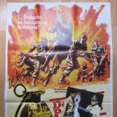 Cine: CARTEL CINE + 12 FOTOCROMOS DOCE DEL PATIBULO LEE MARVIN 1977 MAC CCF129. Lote 211963320