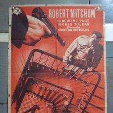 Cinema: CDO 4175 INTRIGA EXTRANJERA ROBERT MITCHUM MCP POSTER ORIGINAL 70X100 ESTRENO LITOGRAFIA. Lote 211963945