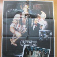 Cine: CARTEL CINE + 12 FOTOCROMOS COTTON CLUB ROBERT EVANS CASARO CCF131. Lote 211964676