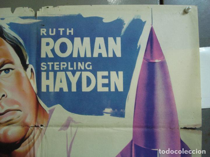 Cine: CDO 4181 RED INVISIBLE STERLING HAYDEN RUTH ROMAN POSTER ORIGINAL 70X100 ESTRENO LITOGRAFIA - Foto 6 - 211967503