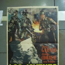 Cine: CDO 4189 LOS JOVENES INVASORES JAMES GARNER WILLIAM A. WELLMAN POSTER ORIGINAL 70X100 ESTRENO. Lote 211972801