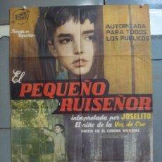 Cine: CDO 4202 EL PEQUEÑO RUISEÑOR JOSELITO POSTER ORIGINAL 70X100 ESTRENO. Lote 211977738