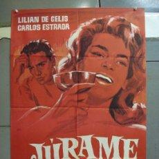 Cine: CDO 4207 JURAME LILIAN DE CELIS JANO POSTER ORIGINAL ESTRENO 70X100. Lote 211979642