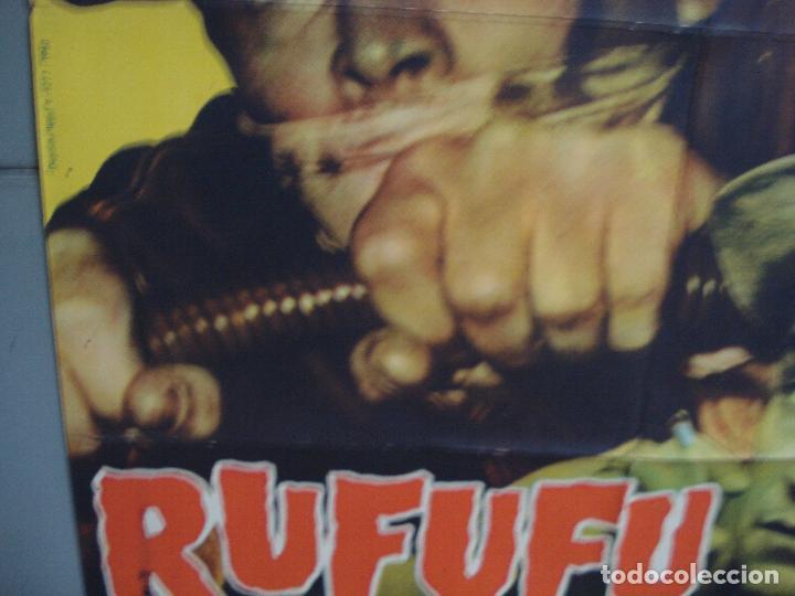 Cine: CDO 4210 RUFUFU DA EL GOLPE VITTORIO GASSMAN POSTER ORIGINAL 70X100 ESTRENO - Foto 4 - 211980133