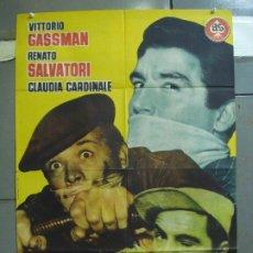 Cine: CDO 4210 RUFUFU DA EL GOLPE VITTORIO GASSMAN POSTER ORIGINAL 70X100 ESTRENO. Lote 211980133