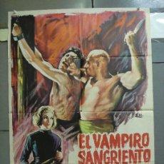 Cine: CDO 4230 EL VAMPIRO SANGRIENTO MIGUEL MORAYTA POSTER ORIGINAL 70X100 ESTRENO. Lote 211998726