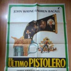 Cine: POS--POSTER DE LA PELICULA-- EL ULTIMO PISTOLERO. Lote 220968580