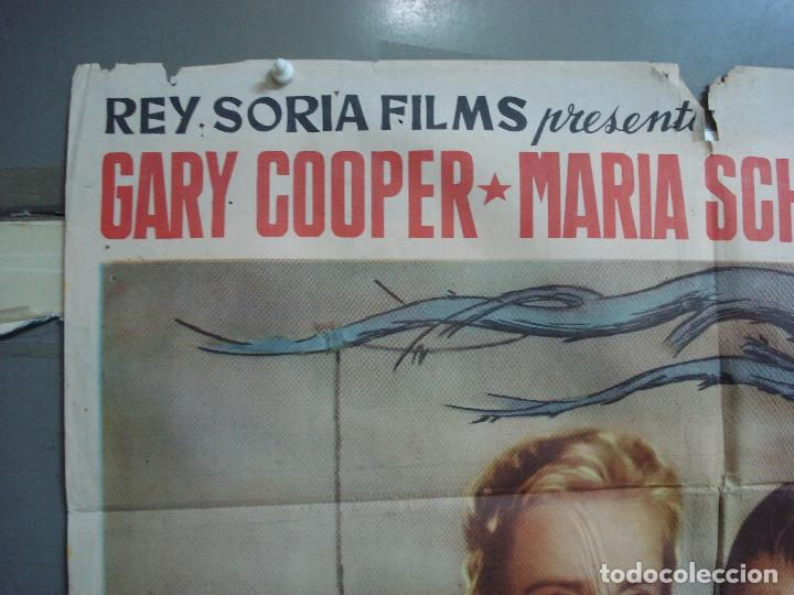 Cine: CDOX 4251 EL ARBOL DEL AHORCADO GARY COOPER MARIA SCHELL DELMER DAVES POSTER ORIG 70X100 ESTRENO - Foto 2 - 212015716