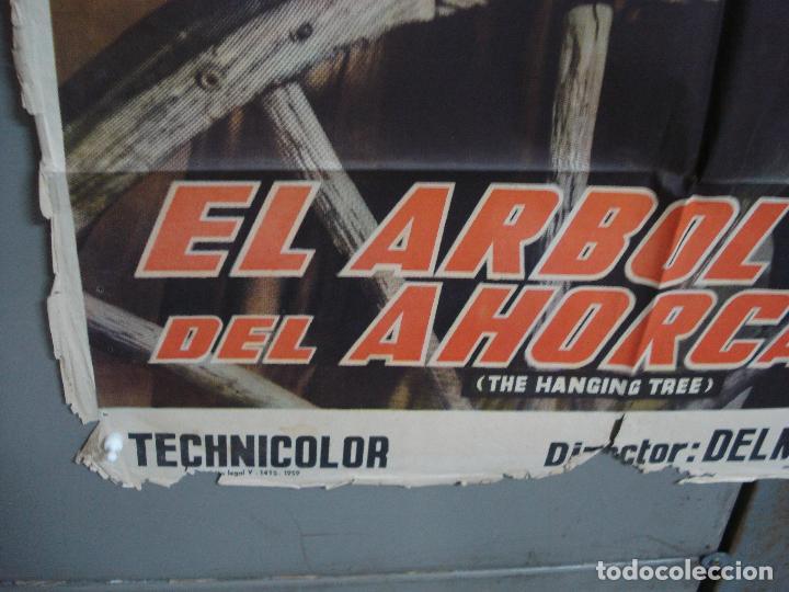 Cine: CDOX 4251 EL ARBOL DEL AHORCADO GARY COOPER MARIA SCHELL DELMER DAVES POSTER ORIG 70X100 ESTRENO - Foto 5 - 212015716