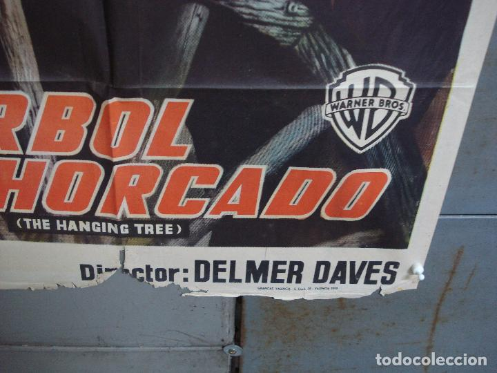 Cine: CDOX 4251 EL ARBOL DEL AHORCADO GARY COOPER MARIA SCHELL DELMER DAVES POSTER ORIG 70X100 ESTRENO - Foto 9 - 212015716