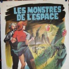 Cine: LES MONSTRES DE L'ESPACE - 1967 - 160 X 120 - OFFSET. Lote 212050258