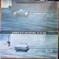 Cine: EL ESTADO DE LAS COSAS. POSTER ORIGINAL. WIM WENDERS 1982. Lote 212056103