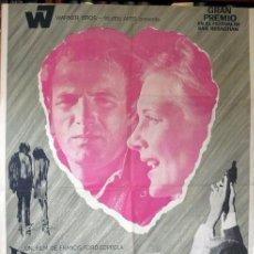 Cine: LLUEVE SOBRE MI CORAZÓN. POSTER ORIGINAL. FRANCIS F COPPOLA, 1969. Lote 212060282