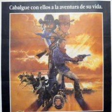 Cine: SILVERADO. POSTER ORIGINAL. LAWRENCE KASDAN, 1985. (70X100 CM). Lote 212060750