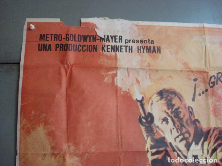 Cine: AAK69 DOCE DEL PATIBULO LEE MARVIN POSTER ORIGINAL 3 hojas 100X205 ESTRENO - Foto 2 - 212069742