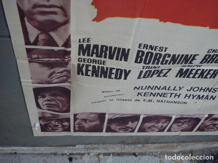 Cine: AAK69 DOCE DEL PATIBULO LEE MARVIN POSTER ORIGINAL 3 hojas 100X205 ESTRENO - Foto 7 - 212069742