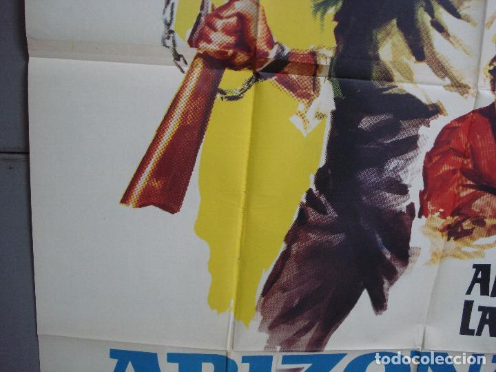Cine: AAK77 ARIZONA PRISION FEDERAL ALAN LADD POSTER ORIGINAL 2 hojas 100X140 ESTRENO - Foto 4 - 212077766