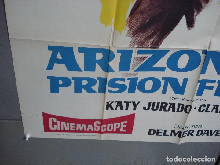 Cine: AAK77 ARIZONA PRISION FEDERAL ALAN LADD POSTER ORIGINAL 2 hojas 100X140 ESTRENO - Foto 5 - 212077766