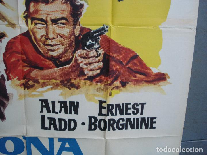 Cine: AAK77 ARIZONA PRISION FEDERAL ALAN LADD POSTER ORIGINAL 2 hojas 100X140 ESTRENO - Foto 8 - 212077766