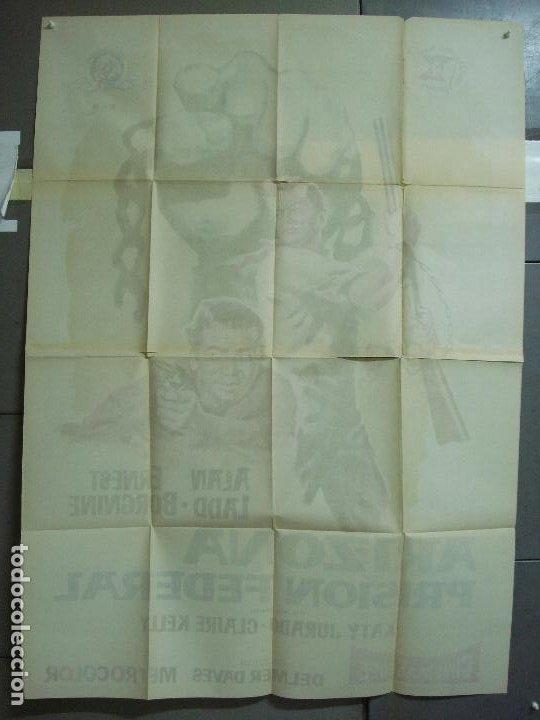 Cine: AAK77 ARIZONA PRISION FEDERAL ALAN LADD POSTER ORIGINAL 2 hojas 100X140 ESTRENO - Foto 10 - 212077766