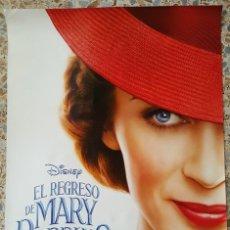 Cine: PÓSTER ORIGINAL EL REGRESO DE MARY POPPINS. Lote 212177723