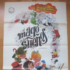 Cine: CARTEL CINE, EL MAGO DE LOS SUEÑOS, FAMILIA TELERIN, ANDY RUSSELL, TERESA MARIA, 1984, C1482. Lote 212323541