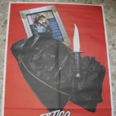 Cine: VERGIGO MORTAL BLACKOUT 1986 RICHARD WIDMARK KEITH CARRADINE CARTEL DE CINE 100 X 70 CM. POSTER. Lote 212333331