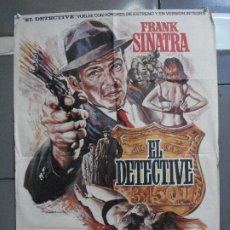 Cine: CDO 4297 EL DETECTIVE FRANK SINATRA MAC POSTER ORIGINAL 70X100 R-76. Lote 212353640