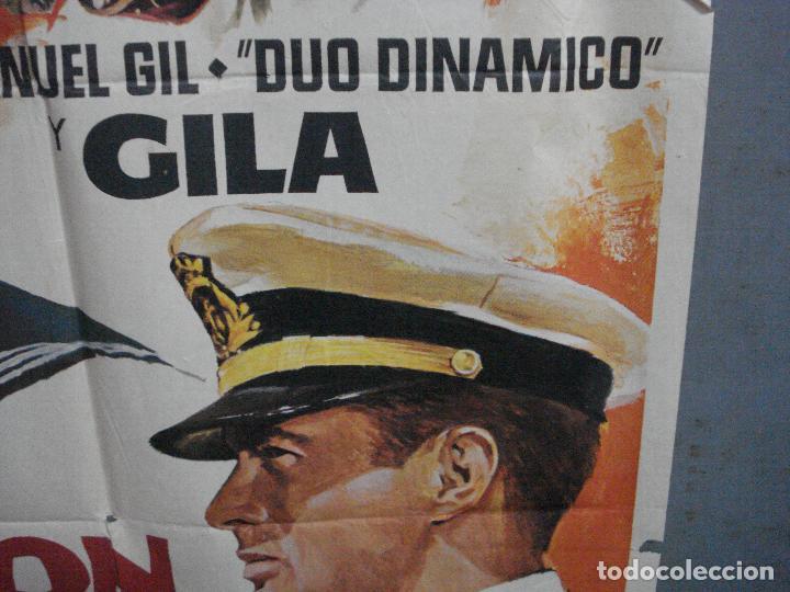 Cine: CDO 4305 BOTON DE ANCLA EN COLOR DUO DINAMICO GILA MARTI RIPOLL POSTER ORIGINAL 70X100 ESPAÑOL R-72 - Foto 8 - 212357556