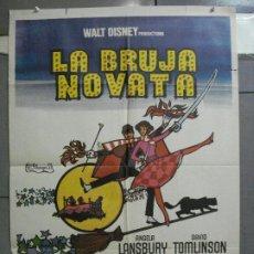 Cine: CDO 4308 LA BRUJA NOVATA WALT DISNEY POSTER 70X100 ORIGINAL ESTRENO. Lote 212359318