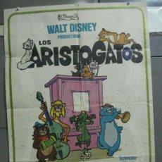 Cine: CDO 4317 LOS ARISTOGATOS WALT DISNEY POSTER ORIGINAL 70X100 ESTRENO. Lote 212361187
