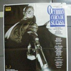 Cine: AAK95 OCURRIO CERCA DE SU CASA TERROR ASESINO EN SERIE POSTER ORIGINAL 70X100 ESTRENO. Lote 212368506