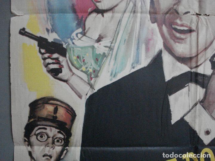 Cine: CDO 4335 CUIDADO CON ESPIAS CARRY ON JAMES BOND 007 IMAGEN PARODIA MAC POSTER ORIG ESTRENO 70X100 - Foto 3 - 212380778