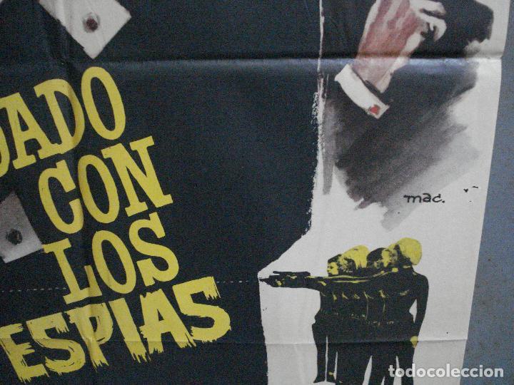 Cine: CDO 4335 CUIDADO CON ESPIAS CARRY ON JAMES BOND 007 IMAGEN PARODIA MAC POSTER ORIG ESTRENO 70X100 - Foto 8 - 212380778