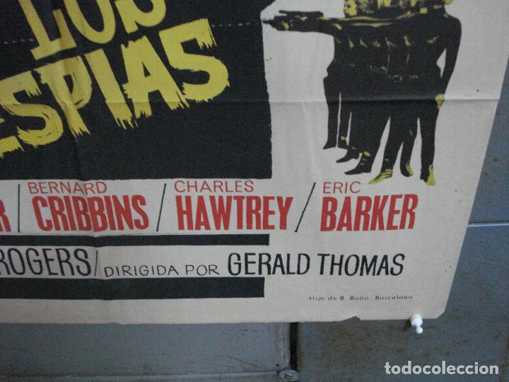 Cine: CDO 4335 CUIDADO CON ESPIAS CARRY ON JAMES BOND 007 IMAGEN PARODIA MAC POSTER ORIG ESTRENO 70X100 - Foto 9 - 212380778