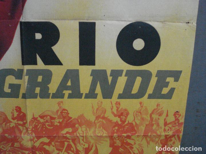 Cine: AAL32 RIO GRANDE JOHN WAYNE JOHN FORD POSTER ORIGINAL ESTRENO 70X100 LITOGRAFIA - Foto 8 - 212391875