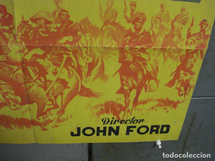 Cine: AAL32 RIO GRANDE JOHN WAYNE JOHN FORD POSTER ORIGINAL ESTRENO 70X100 LITOGRAFIA - Foto 9 - 212391875