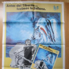 Cine: CARTEL CINE + 12 FOTOCROMOS MOBY DICK GREGORY PECK 1978 CCF147. Lote 212420797