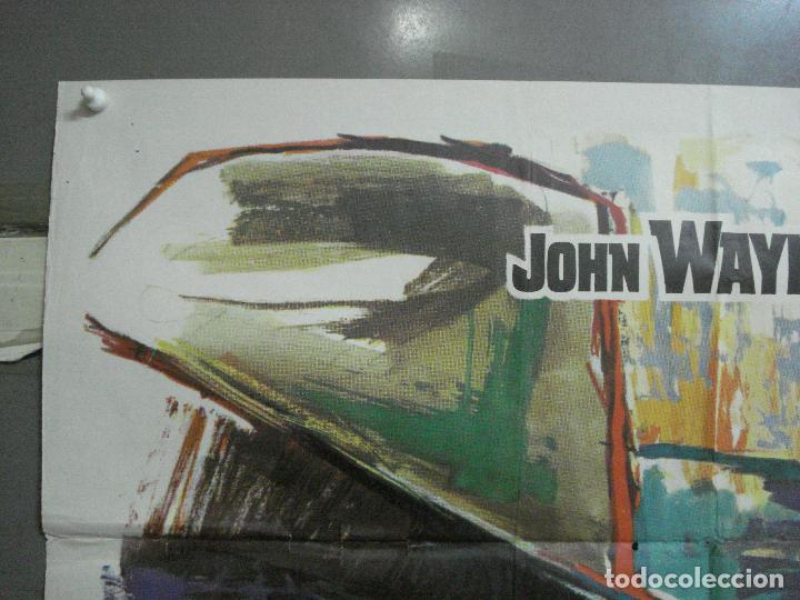 Cine: AAL52 LOS 4 HIJOS DE KATIE ELDER JOHN WAYNE MAC POSTER ORIGINAL 70X100 ESTRENO - Foto 2 - 212498845