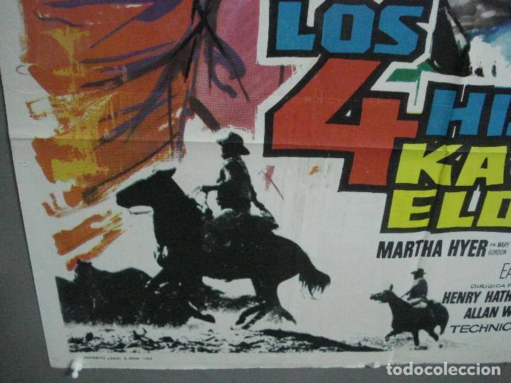 Cine: AAL52 LOS 4 HIJOS DE KATIE ELDER JOHN WAYNE MAC POSTER ORIGINAL 70X100 ESTRENO - Foto 5 - 212498845