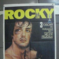Cine: AAL56 ROCKY SYLVESTER STALLONE BOXEO POSTER ORIGINAL 70X100 ESPAÑOL 1977. Lote 212500222