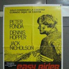 Cine: AAL59 EASY RIDER BUSCANDO MI DESTINO DENNIS HOPPER JACK NICHOLSON POSTER ORIG 70X100 ESPAÑOL R-85. Lote 212500906